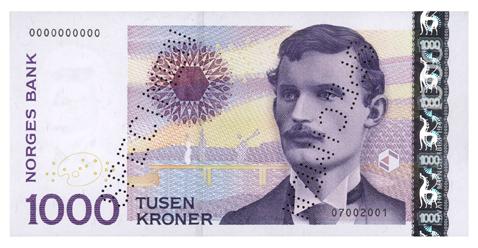 1000 Nok To Euro